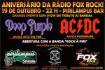 Folder do Evento: Aniversário da Rádio Fox Rock!