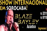 Folder do Evento: Blaze Bayley Acústico (Ex-vocalista do Iron Maiden)