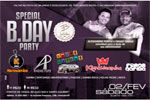Folder do Evento: SPECIAL B-DAY PARTY, NIVER PURPLE e TITI TOMASI