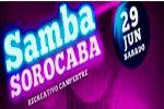 Folder do Evento: Samba Sorocaba