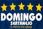 Folder do Evento: Domingo Sertanejo