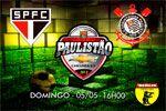 Folder do Evento: PUALISTÃO CHEVROLET - São Paulo x Corinthians