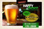 Folder do Evento: HAPPY HOUR toda Quarta-feira!