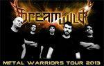 Folder do Evento: Metal Warriors Tour 2013