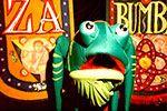 "Folder do Evento: Teatro Infantil ""Zabumba"""