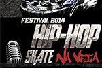 Folder do Evento: Festival - Hip Hop Skate na Veia