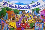 Folder do Evento: Exposição Festas Brasileiras