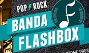 Folder do Evento: Banda Flashbox.