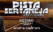 Folder do Evento: ''WALTINHO SILVA + ANDRÉ CAPRONI''