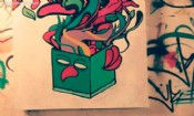 """Folder do Evento: Arte Urbana Exposição """"Conflito"""""""