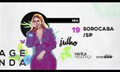 Folder do Evento: Marília Mendonça em Sorocaba/SP