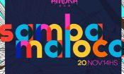 Folder do Evento: Samba Maloca #9