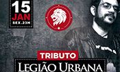 Folder do Evento: Tributo a Legião Urbana
