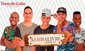 Folder do Evento: Especial Pagode Anos 90 com Samba Livre