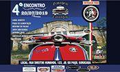 Folder do Evento: 4° Encontro Vespa, Lambretas e Motos