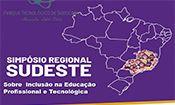 Folder do Evento: Simpósio Regional Sudeste sobre inclusão