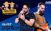 Folder do Evento: Show Jorge e Mateus - 38ª Festa Junina