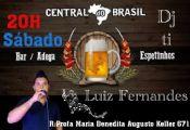 Folder do Evento: LUIZ FERNANDES E DJ TI NA ADEGA CENTRAL