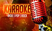 Folder do Evento: Karaokê - Indie | Pop | Rock