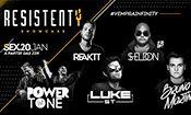 Folder do Evento: Resistenty • Infinity Hall • LIU • Bruno
