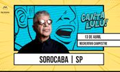 Folder do Evento: Lulu Santos em Sorocaba