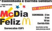 Folder do Evento: 2ª Caminhada e corrida solidária McDia