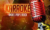 Folder do Evento: Karaokê - Indie | Pop | Rock