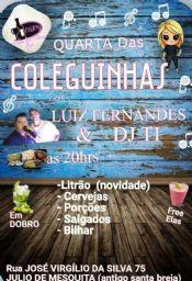Folder do Evento: QUARTA DAS COLEGUINHAS