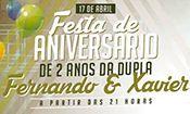 Folder do Evento: Fernando & Xavier