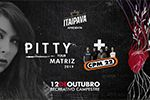 Folder do Evento: Show PITTY (Lançamento