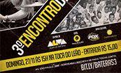 Folder do Evento: III ENCONTRO DE BATERAS DE SOROCABA & RE