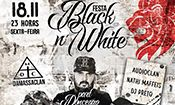 Folder do Evento: Festa Black'n'White - Damassaclan e conv