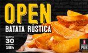 Folder do Evento: OPEN - Batata Rústica