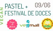 Pastel + Festival de Doces Vegano
