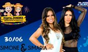 Folder do Evento: Show Simone e Simaria - 38º Festa Junina