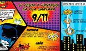 Folder do Evento: 6ª Festa à Fantasia - Vila Santana