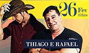 Folder do Evento: Sextaneja - Thiago e Rafael