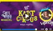 Folder do Evento: Vitor Kley no Kart Circus Music Festival
