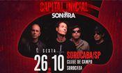 Folder do Evento: Capital Inicial em Sorocaba/SP -26/10