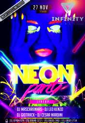 NEON PARTY | 27.11.15 | INFINITY HALL