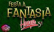 Folder do Evento: Festa à Fantasia Hangar51