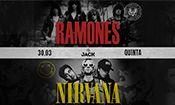 Folder do Evento: Nirvana + Ramones COVER