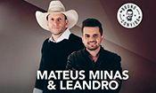 Folder do Evento: Mateus Minas & Minas