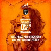 Folder do Evento: Carnivoria Open Air no Pátio Cianê