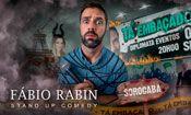 Folder do Evento: Fábio Rabin em Sorocaba/SP