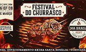 Folder do Evento: Na Brasa Fest * Festival do Churrasco *