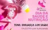 Folder do Evento: Palestra Emagreça com Saúde