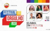Folder do Evento: Festival do Orgulho | LIVE