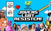 Folder do Evento: Parada 2017: Jovens LGBT resistem!