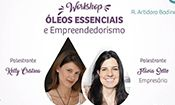 Folder do Evento: PALESTRA ÓLEOS ESSENCIAIS e OPORTUNIDADE